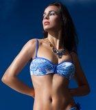 Bandeau bikinitop Goa, blue