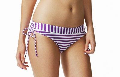 Funky Stripes Bows Bikinibroekje