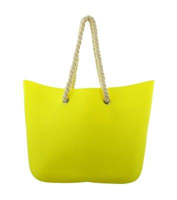 strandtas Bari, neon yellow