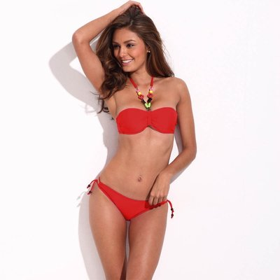 Bikini Jungle Jewel rood