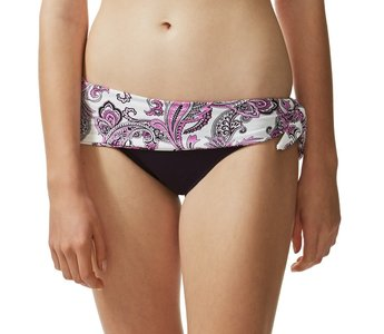Bikinibroekje Goa Tie Skirt Plum