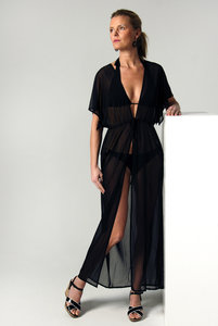 Kimono Black Long
