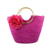 Tas Flora, pink