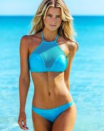 Bikini Mesh Baby Blue